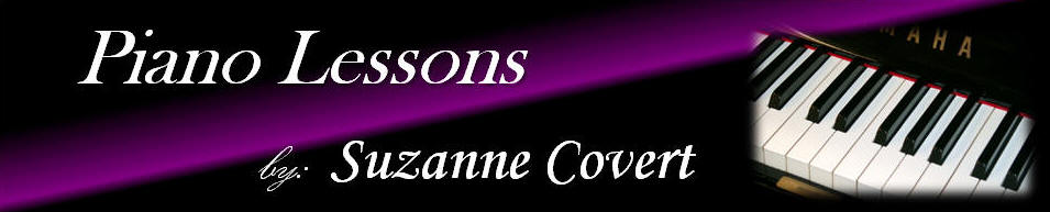 Suzanne Covert Piano Lessons Jacksonville, Florida